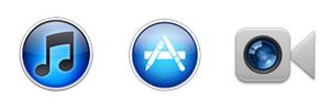Apple alkalmazások legújabb ikonjai